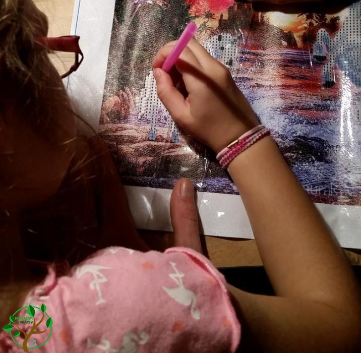Gyerekek és a gyémántkirakó